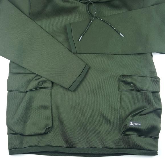 d0639bcca21a Men s Adidas Originals Bldr Army Green Pullover